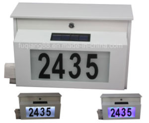 Fq-195-2 Metal Solar Mailbox with Powder Coating Finish pictures & photos