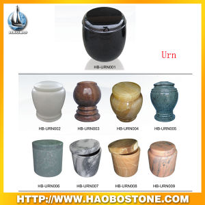 Haobo Stone Factory Direct Sale of Granite Urns for Cemetery pictures & photos