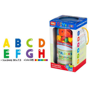 DIY Toys Plastic Block 26 Letters Block with String (10251599) pictures & photos
