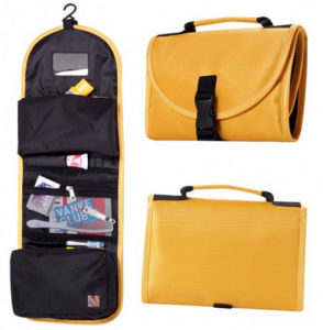Foldable Travel Cosmetic Toiletry Washroom Bathroom Bag Kits pictures & photos