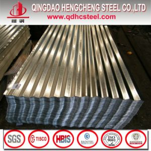 ASTM A792 Galvalume Corrugated Steel Roofing Sheet pictures & photos