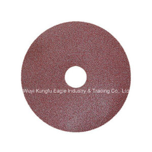 Fiber Sanding Discs with Angle Grinder pictures & photos