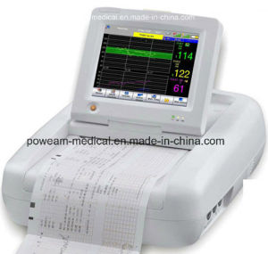 Color Touch Screen Fetal Maternal Monitor (FM-10D) pictures & photos