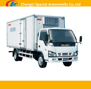 Heavy Duty Isuzu 4*2 Refrigerated Truck for Sale pictures & photos