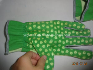 Dotted Palm Glove-Work Glove-Cheap Glove-PVC Glove-Safety Glove pictures & photos