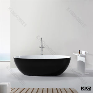 Kkr Australia Popular Oval Shape Stone Resin Bath Tub pictures & photos