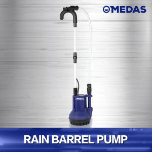 Power Rain Barrel Water Pump with Filter and Handle pictures & photos