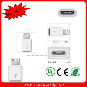 Accessories for iPhone5 Micro to 8pin Black Color (NM-USB-1259) pictures & photos