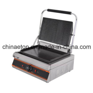 Grooved&Flat Electric Single Contact Grill (ET-YP-1C2) pictures & photos
