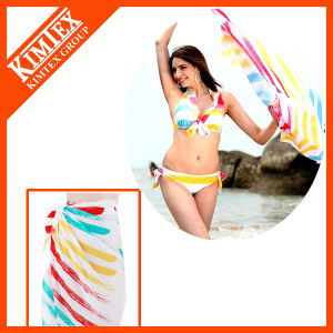 Hot Sales Women Beach Sarong Pareo pictures & photos