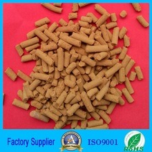 High Absorption Iron Oxide Pellets for Sulfur Removal