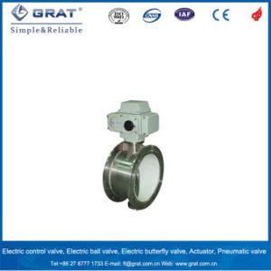 Stainless Steel Low-Load Electric Control Butterfly Valve pictures & photos