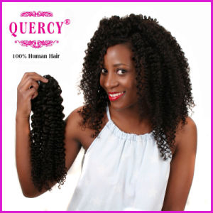 Quercy Hair Wholesale Indian Remy Hair 100 Unprocessed Remy Human Hair Extensions Natural Raw Indian Curl Human Hair pictures & photos