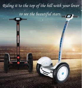 New Design 2 Wheel 15 Inches Electric Skateboard Standing Scooter pictures & photos