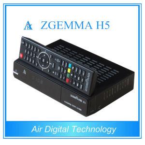 Smart Box DVB S2 DVB T2 DVB C with IPTV Support Kodi Hevc/H. 265 Zgemma H5 pictures & photos