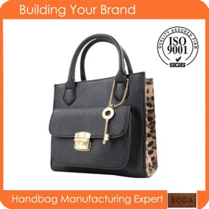 Best Selling Leopard Style Lady Handbag (BDM073) pictures & photos