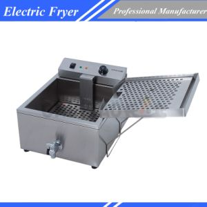Commercial Electric Single Tank Deep Fryer Dzl-400 pictures & photos