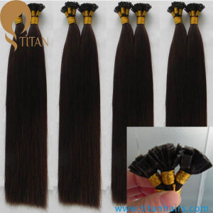 European Remy Human Hair Flat Tip Hair Extension pictures & photos