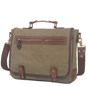 Russian Vintage Canvas Laptop Messenger Handbag (RS-6915C) pictures & photos