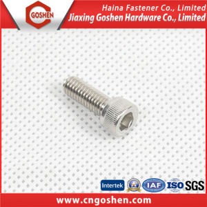 Asme/ANSI B18.3 Stainless Steel Hexagon Socket Cap Screw pictures & photos