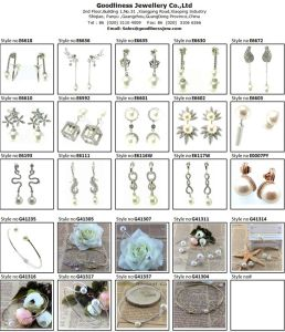 Top Quality Wholesale Price! Wholesale Silver Earring Factory China E6726 pictures & photos
