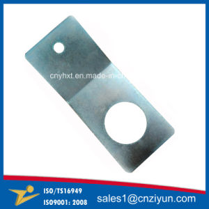 Custom L Shaped Metal Brackets with Zinc Plating pictures & photos