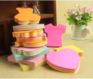 Cute and Colorful Stationery Shape Sticky Note