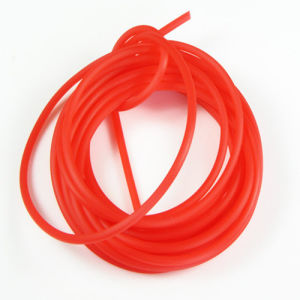 Extruded Soft/Elastic 4mm Natural White Rubber Cord pictures & photos