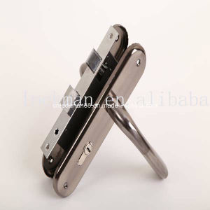 Aluminum Handle Iron Plate Door Lock (NO. 311-257) pictures & photos