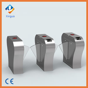 Half Height Prestige Security Bidirectional Flap Barrier Gate Automation Turnstile RFID Door Entry System pictures & photos