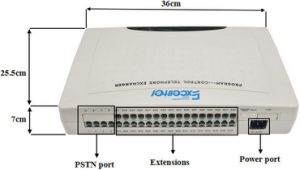 Intercom System PBX CS+432 with Caller ID 4 Co Lines 32 Extensions pictures & photos