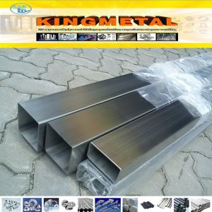 2b No. 1ba Surface Finish Construction Stainless Steel Square Tube 304 pictures & photos