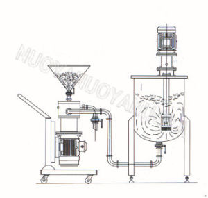 on-Line Powder-Suction Type Separate Emulsification Machine pictures & photos