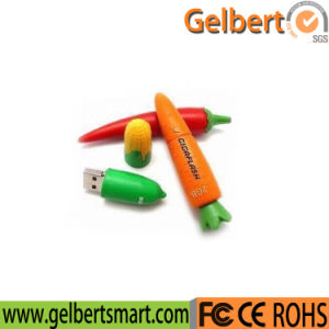 OEM Carrot Shape USB 2.0 Flash Disk for Gift pictures & photos