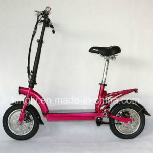"12"" Alloy Wheel 300W Folding E-Scooter (ES-1202) pictures & photos"
