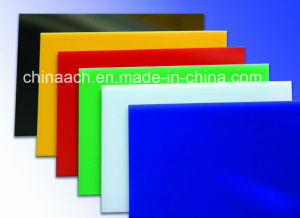 Clear and Colorful Cast Acrylic Sheet pictures & photos
