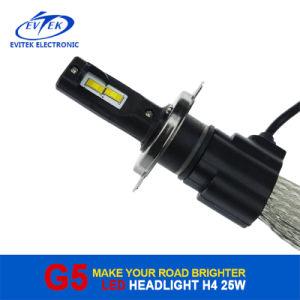 Fanless LED Headlight Bulbs 25W 3200lm LED Headlight H4 9004 9007 H13 Car Headlight pictures & photos
