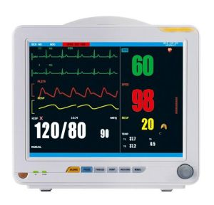 12.1 Inch Patient Monitor Cardiac Monitor ECG Monitor Vital Monitor System (OW-8000G) pictures & photos