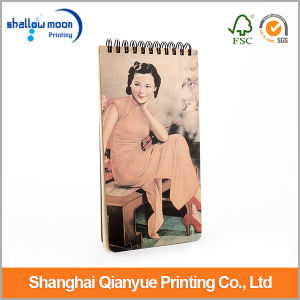 Shanghai Woman Stand Wholesale Paper Calendar (QY150305) pictures & photos
