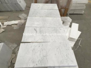 White Carrara Marble Tile for Flooring pictures & photos