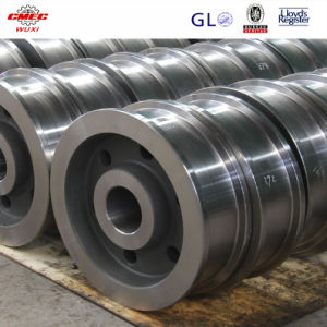 High Quality Cast Steel Pulley for Crane Equipment pictures & photos