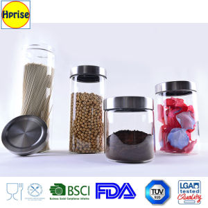 Wholesale Coffee and Tea Storage Glass Jar