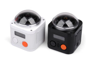 360 Waterproof Full View WiFi Action Camera with 4k Video Resolution pictures & photos