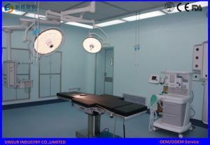 China Qualified Surgical Shadowless Double Heads Ceiling LED Operating Lamp pictures & photos