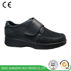 Grace Health Shoes Diabetic Shoes with Genuine Leather, Foot Pain Relief Comfort Shoes pictures & photos
