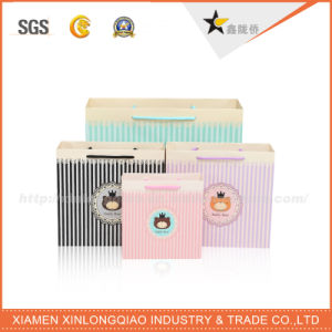 Newest Design Custom Promotional Gift Paper Bag with Handle pictures & photos