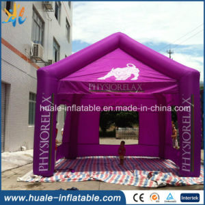 Purple Outdoor Advertising Tent Inflatable Promotional Event for Recreation