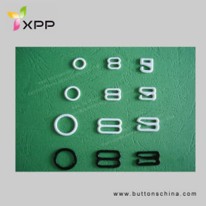 Nylon Coated Ring and Slider for Bra Adjustor pictures & photos