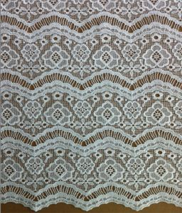 White Floral Guipure Embroidery Lace Fabrics for Clothing and Garments