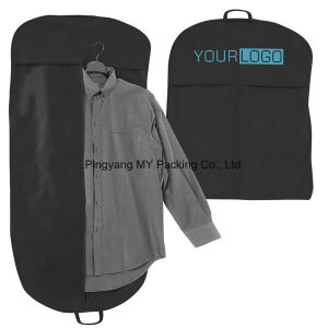 Advertising PP Non-Woven Men′s Suits Garment Bag Cover pictures & photos